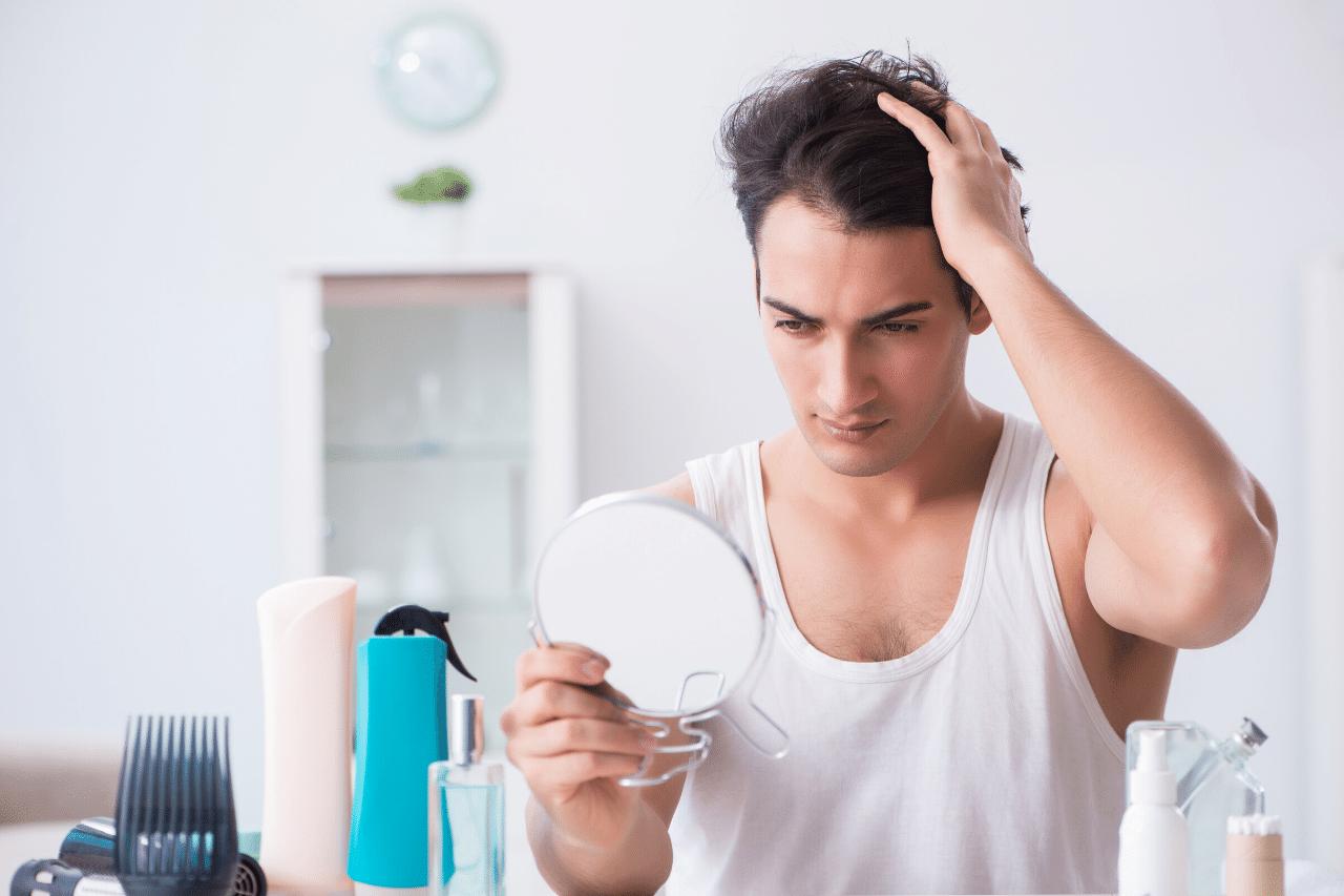 Geheimratsecken oder normaler Haaransatz Haarausfall erkennen!