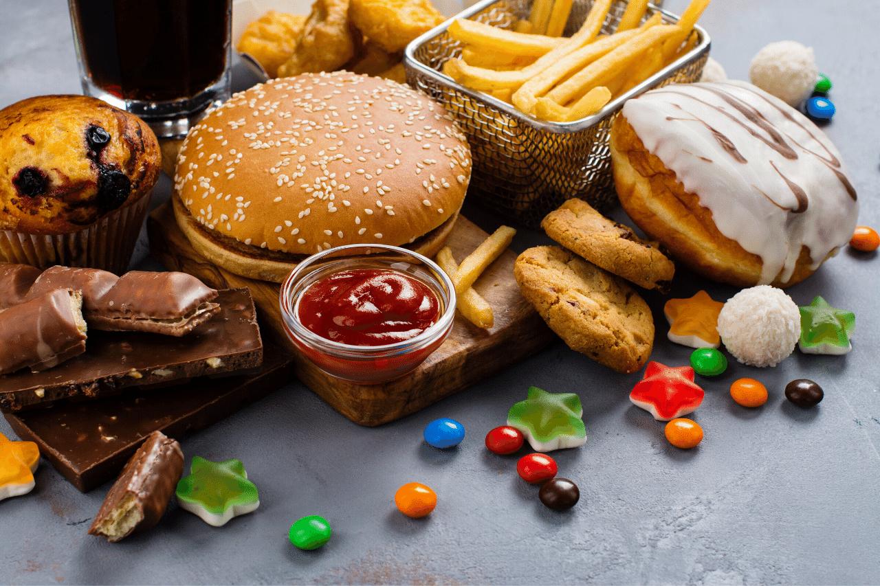 fastfood kann haarausfall verursachen