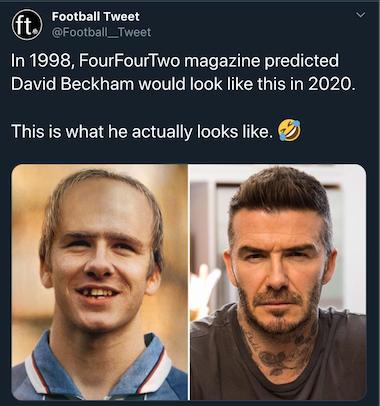 fourfourtwo magazin david beckham vorher nachher