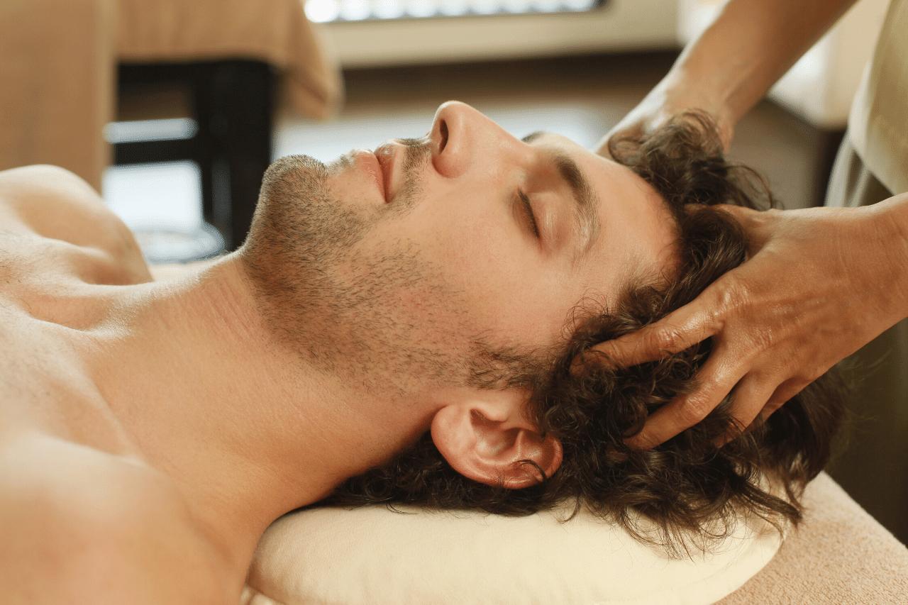 stimulieren der haarfollikel hilft gegen haarausfall