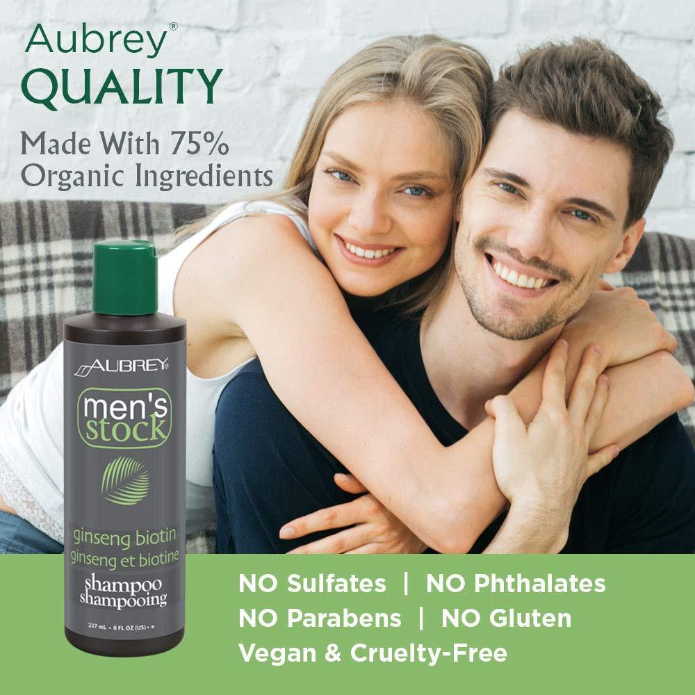 aubrey organics biotin shampoo gegen haarausfall