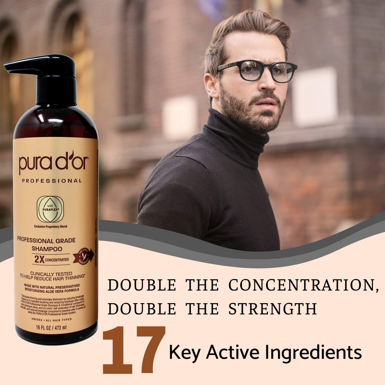pura d'or professional biotin shampoo test